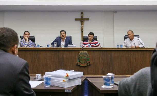 Audiência foi promovida pela Comissão de Finanças e Orçamento da Câmara Municipal. (Foto: Leandro Barreira / CMTS)