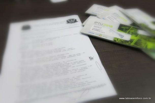 Ney Santos registrou Boletim de Ocorrência contra a empresa responsável pelo serviço de medição dos imóveis.