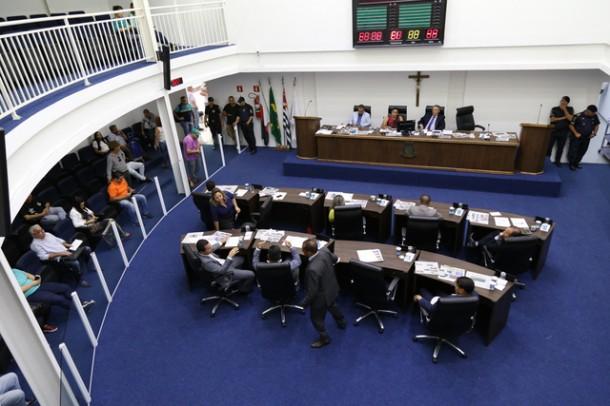 Primeira votação do orçamento para 2018 é adiada para quinta (7). (Foto: Leandro Barreira / CMTS)