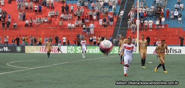Clube Atlético Taboão da Serra empata mais um jogo e precisa vencer para garantir classificação a segunda fase.