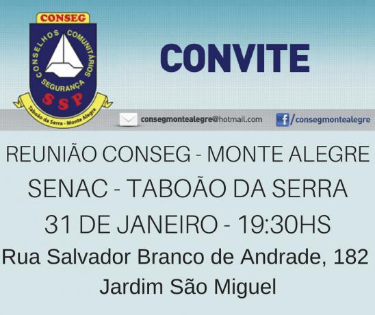 Convite Conseg Monte Alegre Jan 18