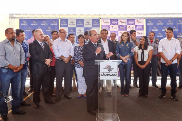 Vereadores prestigiaram a inauguração da nova sede do Corpo de Bombeiros de Taboão da Serra. (Foto: Leandro Barreira / CMTS)