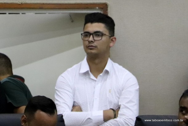 O então sub-secretário de Gestão Tecnológica e Comunicação de Embu das Artes, dois dias antes do indiciamento, ocorrido na sexta (16)
