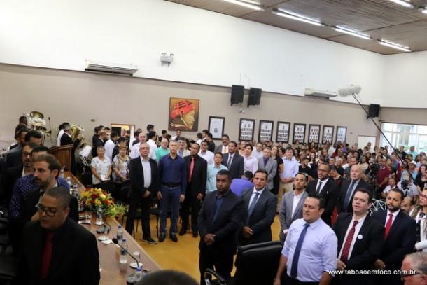 Embuenses celebram 59 anos com sessão solene na Câmara Municipal.