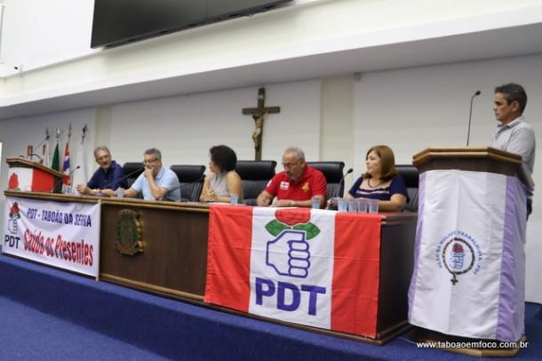 Convenção do PDT elege os membros do diretório em Taboão da Serra.