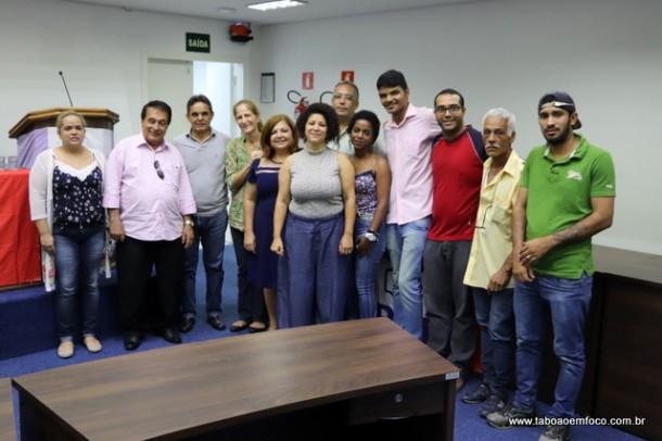 Membros do novo diretório do PDT de Taboão da Serra.