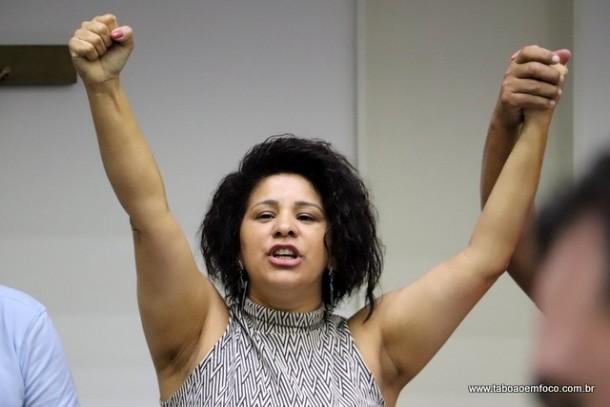 A sindicalista Gleides Sodré,  presidente do PDT de Taboão da Serra, será candidata a vice-governadora de São Paulo. (Foto: Arquivo)