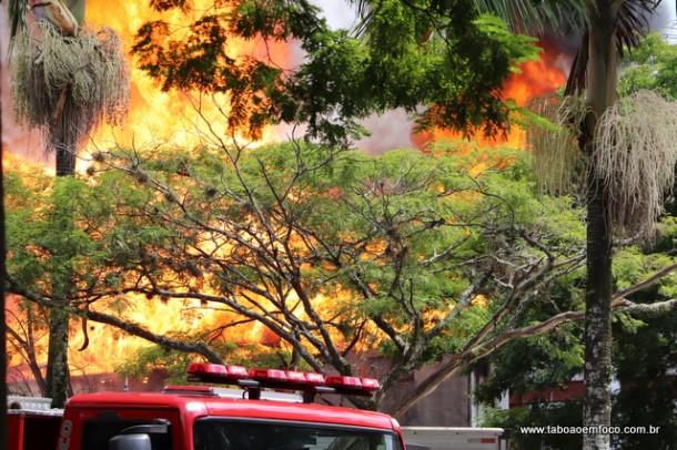 Incendio em Taboao da Serra
