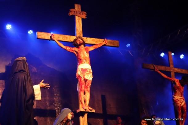 Paixão de Cristo de Taboão da Serra fez a sua 62ª encenação.