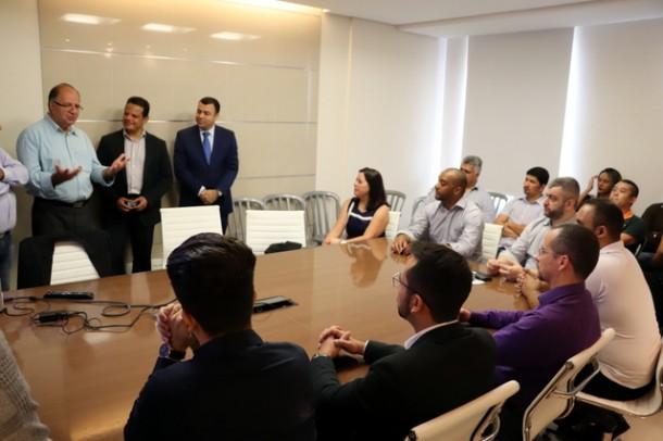 Empreendedores participam de reunião promovido pelo Centro de Atendimento ao Empreendedor (CAE)