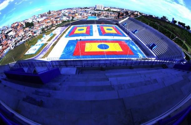 Arena Multiuso recebe edição do Circuito Sesc de Artes neste sábado (21). (Foto: Ricardo Vaz / PMTS)