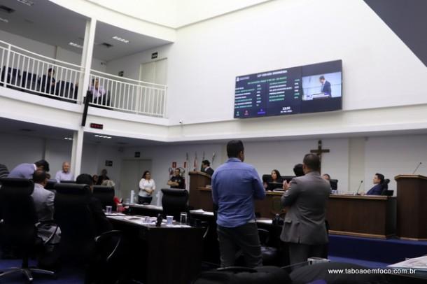 Sessão desta terça-feira teve a aprovação de quatro projetos de leis.