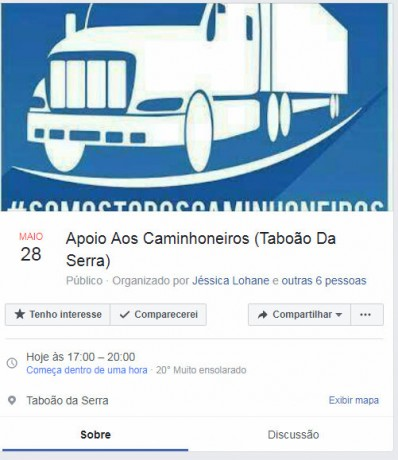 Convocacao facebook