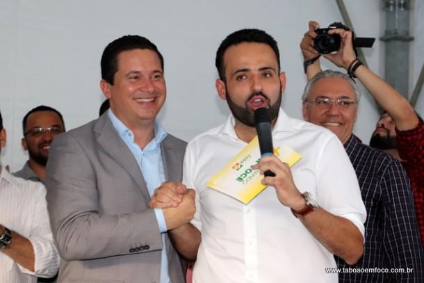 Eduardo Nóbrega e Ney Santos fecham acordo para as eleições de 2018 e 2020.