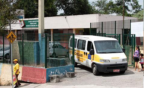 Aulas são suspensas em Embu das Artes. (Foto: Arquivo / PMETEA)