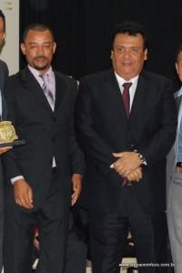 Vereador Moreira e o prefeito Fernando Fernandes no Cemur em 2013. (Foto: Arquivo)