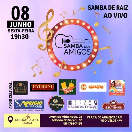 Convite Samba