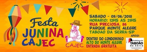 Festa junina Cajec 2018
