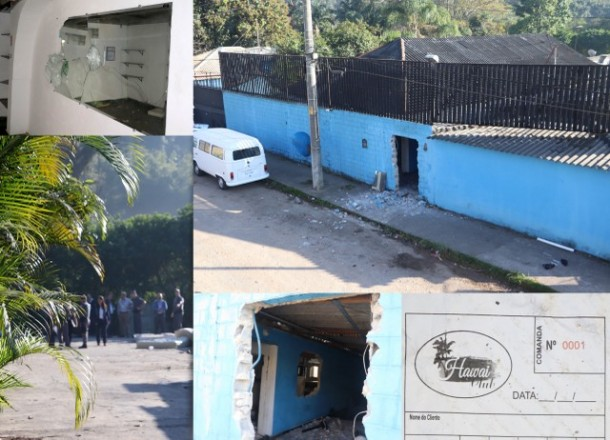 Imóvel ocupado irregularmente por casa de prostituição sofre despejo em Taboão da Serra.