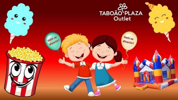Convite Taboao Plaza Outlet