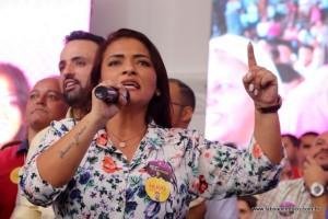 Ely Santos agradece apoio de lideranças regionais e reforça a importância de ter representantes da região em Brasília para conseguir mais investimentos a região.