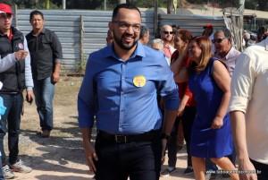 Hugo Prado chega a