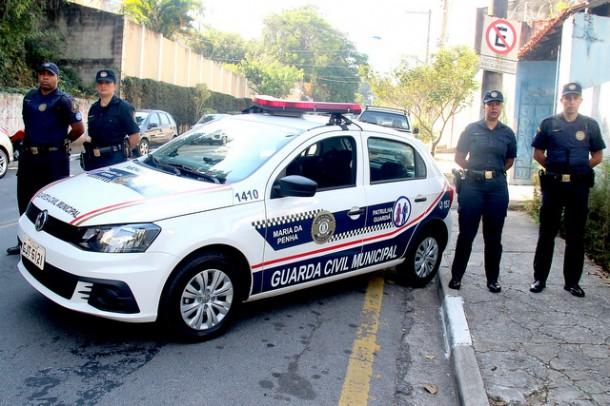 Taboão da Serra já conta com as operações da Patrulha Guardiã para garantir a proteção de vítimas de agressão com medidas protetivas (Foto: Ricardo Vaz / PMTS)