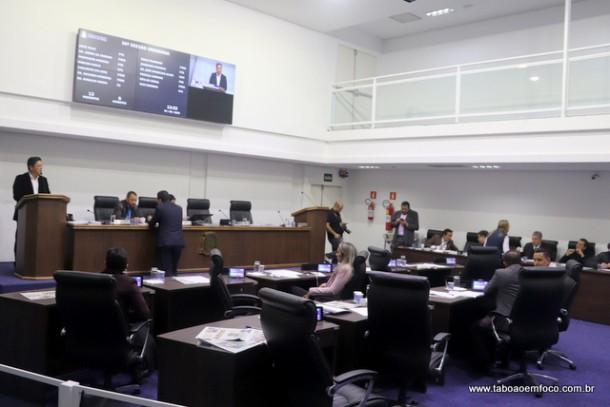 Vereadores realizam primeira sessão após recesso de julho.