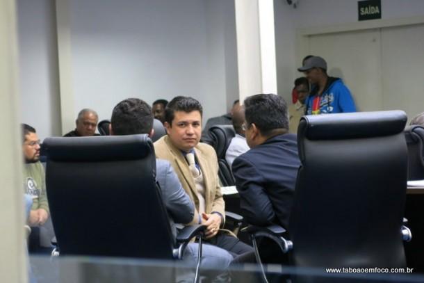 Marcos Paulo sonha com a presidência da Câmara, mas enfrenta a concorrência de Ronaldo Onishi e André Edygio, por enquanto. (Foto: Arquivo)
