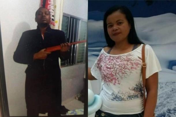 Preso o homem acusado de matar a copeira Dilma, que desapareceu na madrugada de sábado (11) ao ir para o trabalho. (Fotos: Reprodução)