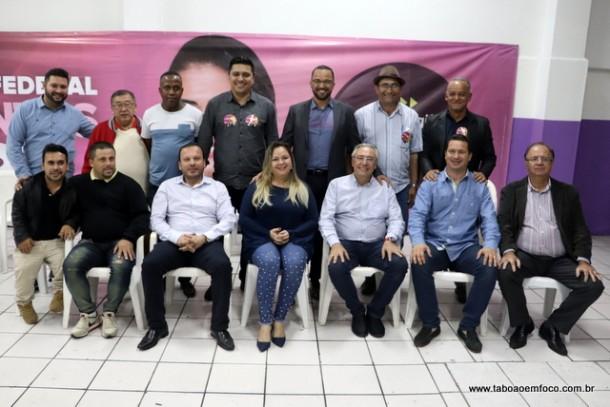 Vereadores de Taboão da Serra e outras lideranças transferem apoio de Analice para Hugo Prado. Vice-prefeito Laércio Lopes anunciou apoio apenas a Ely Santos e mantém a Analice.