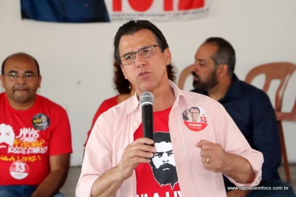 Luiz Marinho critica tucanos e promete Bilhete Único Metropolitano e expansão do metrô para fora da capital paulista.