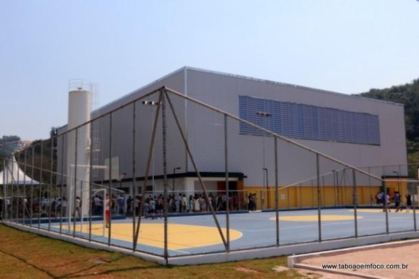Taboão da Serra ganha mais um ginásio para práticas de esportes.