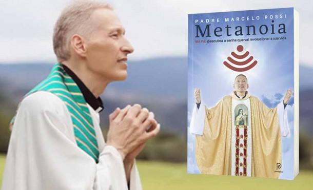 Padre Marcelo Rossi lança mais um livro, Metanoia. (Foto: Reprodução)