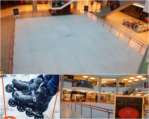 Taboão da Serra terá pista de patinação em breve.