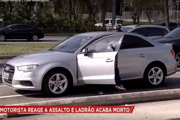 Policial carioca reage a assalto e mata suspeito de roubo, que era morador de Taboão da Serra.