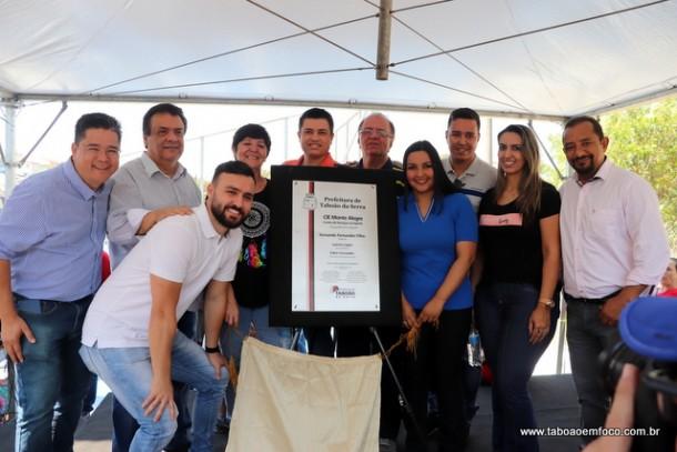 CIE de Taboão da Serra é inaugurado no Parque Monte Alegre.