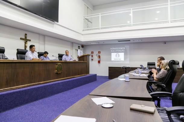 Câmara realiza audiência pública para discutir finanças de Taboão da Serra. (Foto: Leandro Barreira / CMTS)