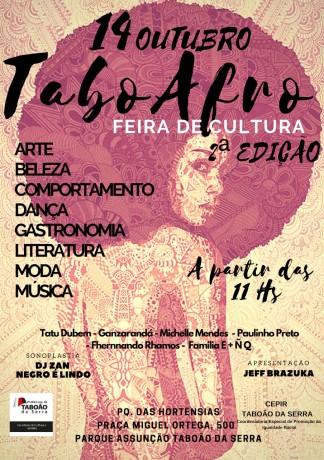 Convite da TaboAfro 2018