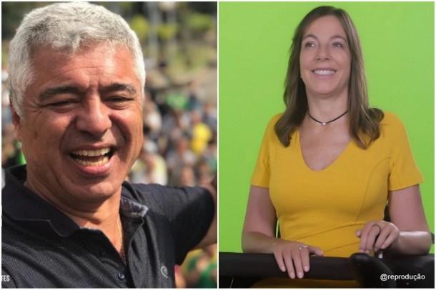 Major Olímpio e Mara Gabrilli são eleitos senadores por São Paulo. (Fotos: Reprodução)