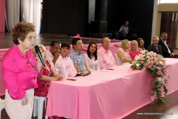 Evento no Cemur marca o início do Outubro Rosa em Taboão da Serra.