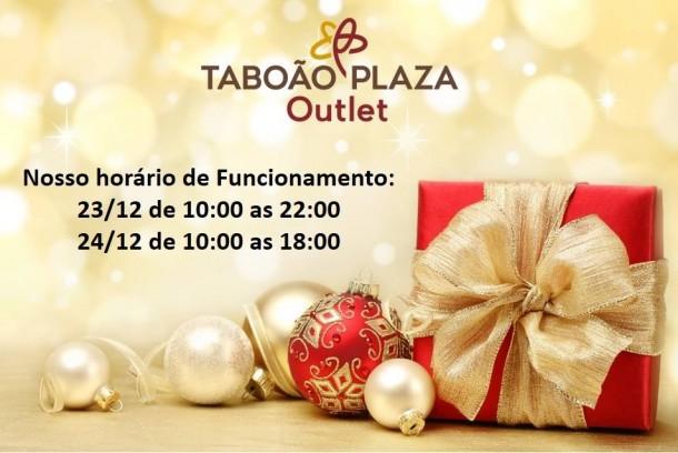 Horario de Natal no Plaza Outlet