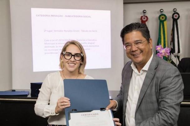 Lei do vereador Ronaldo Onishi fica em 2º lugar na categoria inovação em disputa em São Paulo. (Foto: Divulgação)