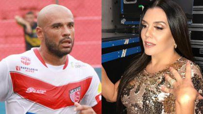 Revoltada com pensão de R$ 300, Simony critica pai de sua filha atual técnico do Taboão.