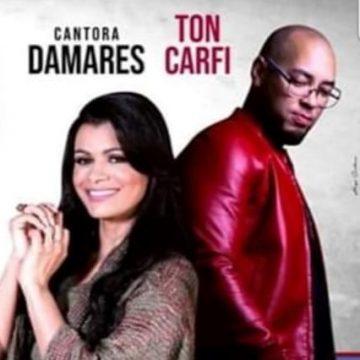 Cantora Damares e Ton Carfi faz show no Ginásio de Taboão no sábado (7)