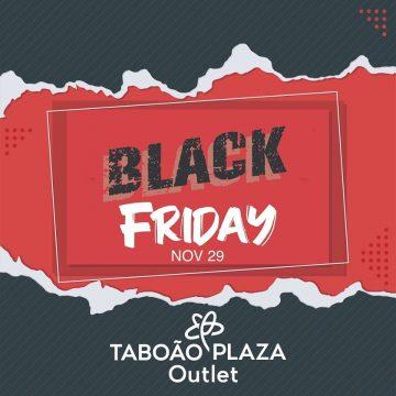 Black Friday: Taboão Plaza Outlet vai abrir das 7h às 23h