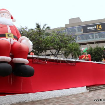 Decoração de Natal de Taboão da Serra será inaugurada na sexta-feira (22)