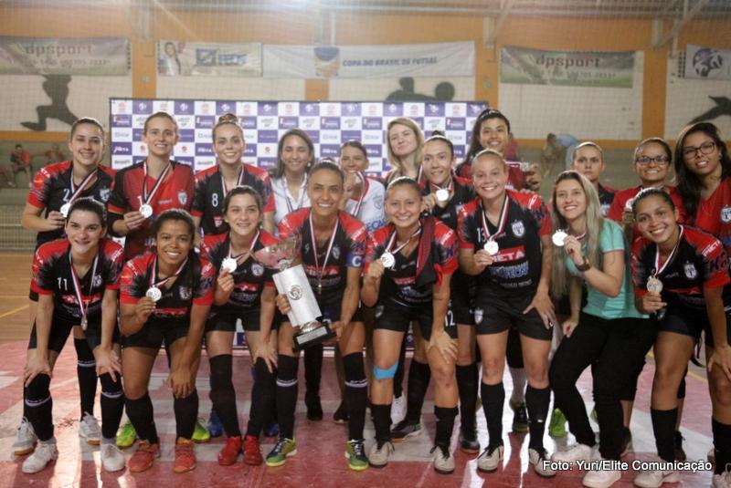 Futsal Feminino Taboão da Serra fica com vice do Paulista