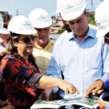 Governo do Estado lança pedra fundamental para construção de moradias em Embu das Artes